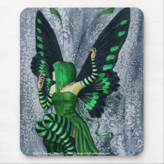 The Green Faerie by Dawn Obrecht Mouse Pad