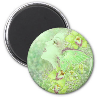 The Green Faery Magnet
