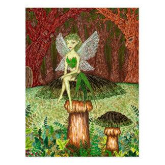 The Green Faery Postcard