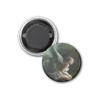 The Green Fairy 1 Inch Round Magnet