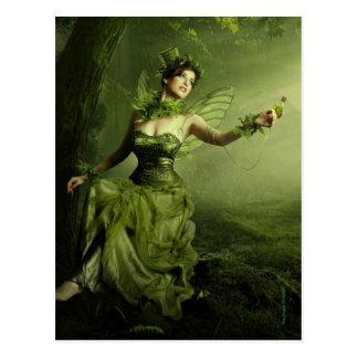 The Green Fairy Postcard