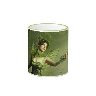 The Green Fairy Ringer Coffee Mug