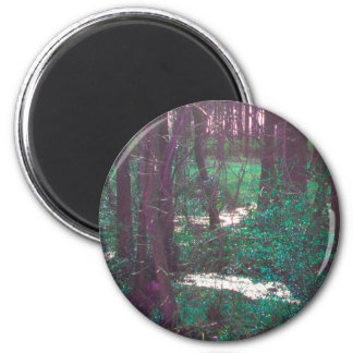 The Green Fairy Woods Magnet