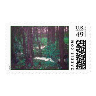 The Green Fairy Woods Stamps