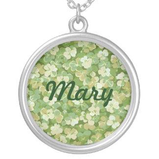 The Green Garden Name Necklace