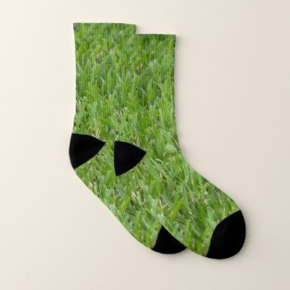 The Green Green Grass of Home Socks