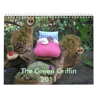 The Green Griffin 2011 Wall Calendars