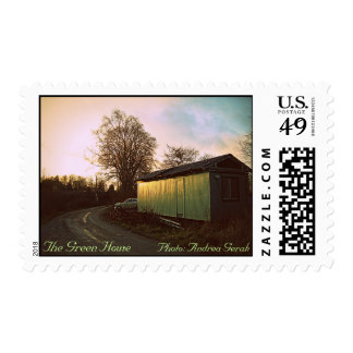 The Green House Postage Stamp