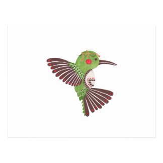 The Green Hummingbird Postcard