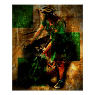 The Green Jersey II Posters