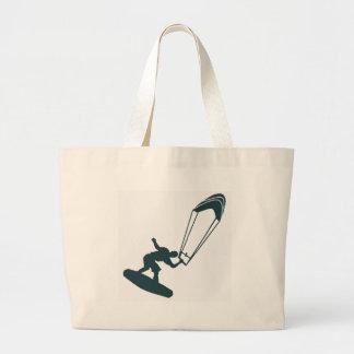 The Green Kiteboard Canvas Bag
