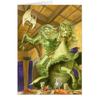 The Green Knight borderless Card