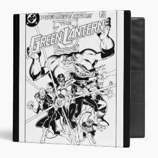The Green Lantern Corps, Black and White 3 Ring Binder