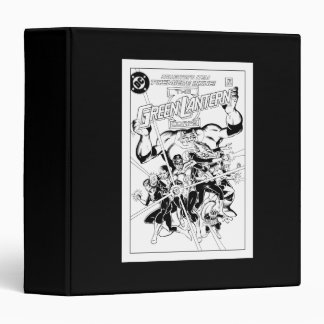 The Green Lantern Corps, Black and White Vinyl Binder