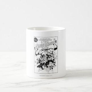 The Green Lantern Corps, Black and White Coffee Mug