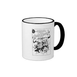 The Green Lantern Corps, Black and White Ringer Coffee Mug