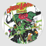 The Green Lantern Corps Classic Round Sticker