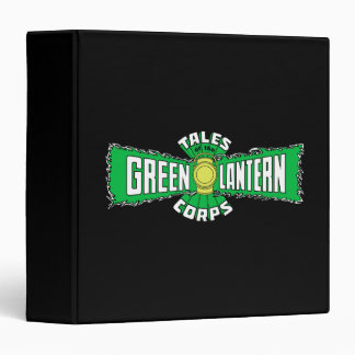 The Green Lantern Corps - Green Logo Binder
