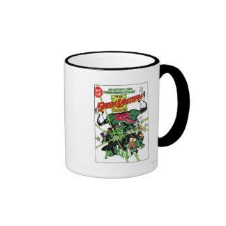 The Green Lantern Corps Ringer Coffee Mug