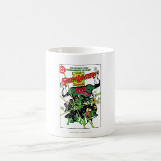 The Green Lantern Corps Classic White Coffee Mug