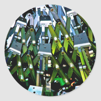The Green Machine Classic Round Sticker