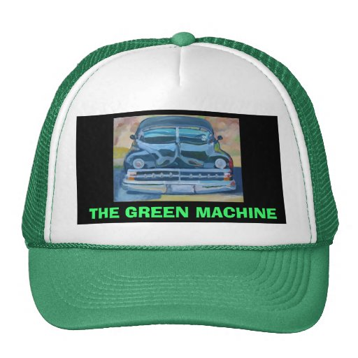 THE GREEN MACHINE - HAT | Zazzle