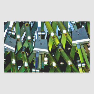 The Green Machine Rectangular Sticker