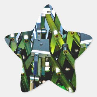 The Green Machine Star Sticker