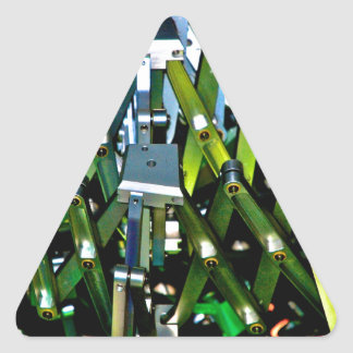The Green Machine Triangle Sticker
