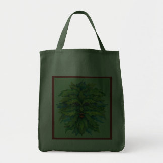 The Green Man Grocery Bag