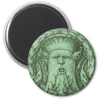 The Green Man Fridge Magnet
