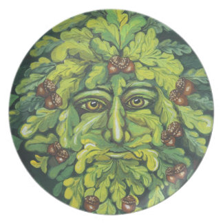 The Green Man Plate