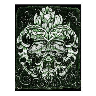 The Green Man Post Cards