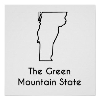 The Green Mountain State Poster