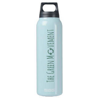 The Green Movement: Aluminum 24 oz Insulated Water Bottle