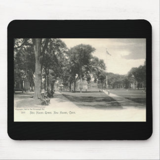 The Green, New Haven 1906 Vintage Mouse Pad