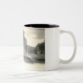 The Green, New Haven 1906 Vintage Two-Tone Coffee Mug