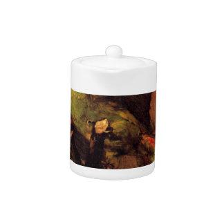 The Green Parrot by Vincent van Gogh Teapot