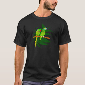 The Green Parrots apparel T-Shirt