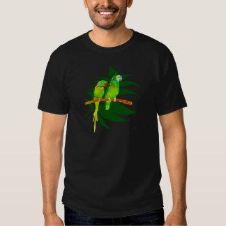 The Green Parrots apparel T-shirts