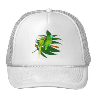 The Green Parrots apparel Trucker Hat