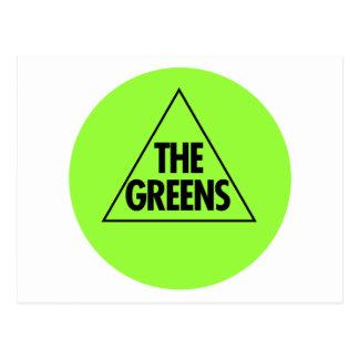 The Green Party: Australia 2013 Postcard