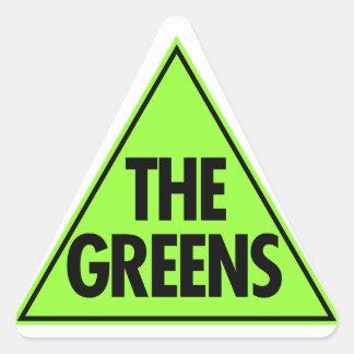 The Green Party: Australia 2013 Triangle Sticker