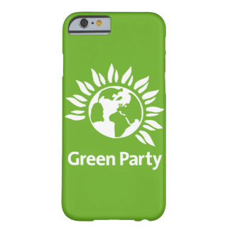 The Green Party England and Wales Barely There iPhone 6 Case
