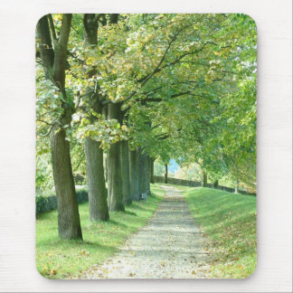 The Green Path Mouse Pad