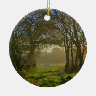 The Green Path Christmas Tree Ornament
