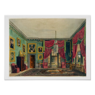 The Green Pavilion, Frogmore House, from 'The Hist Poster