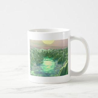 The Green Planet Coffee Mug