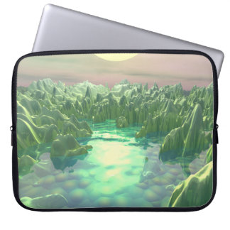 The Green Planet Computer Sleeve
