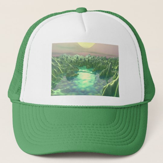 The Green Planet Trucker Hat